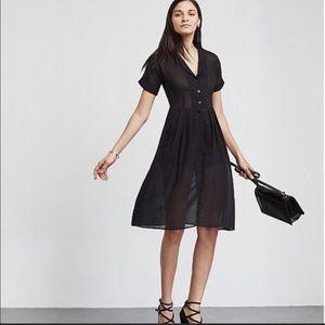 Reformation Lydia Dress Black